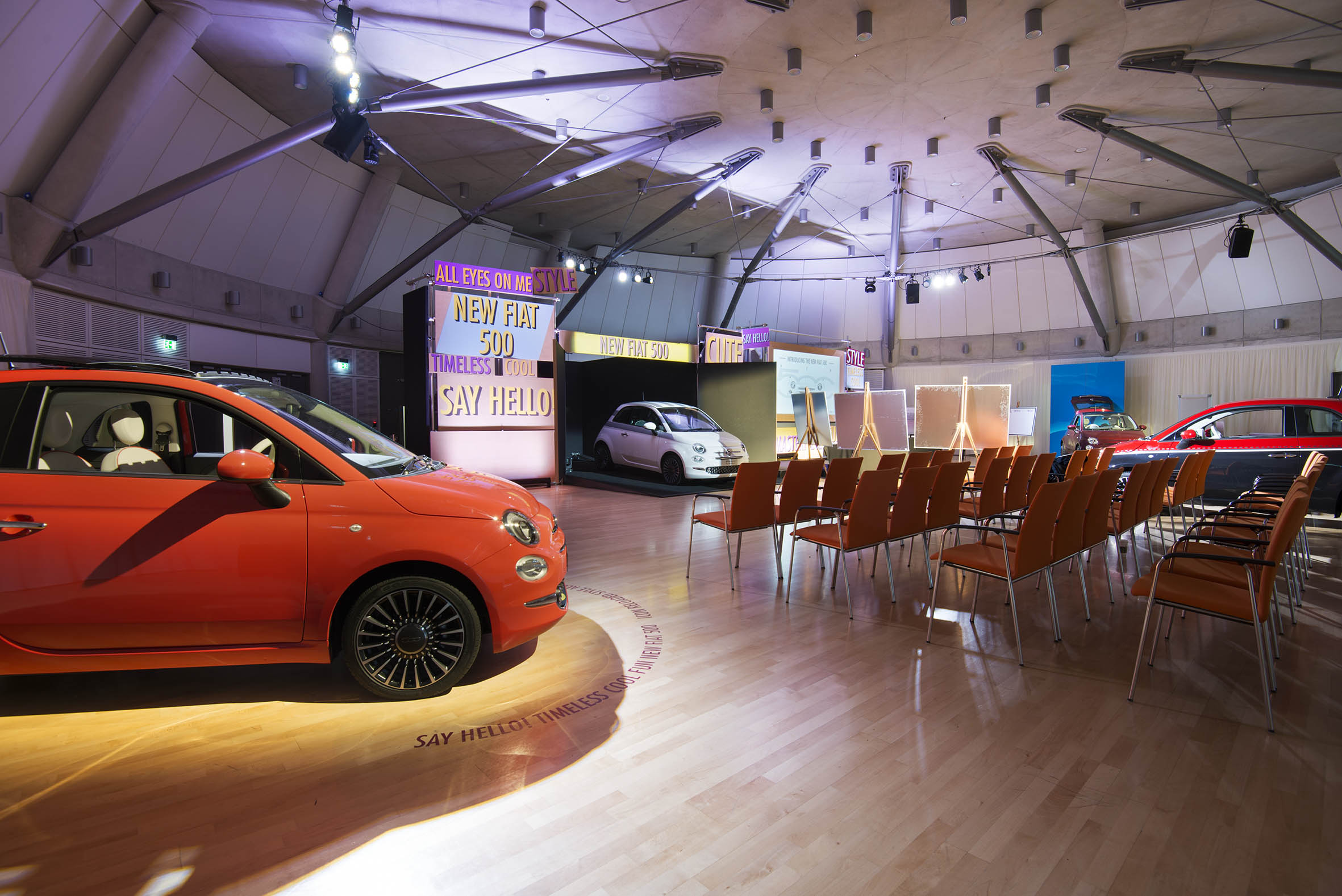 Photo of New Fiat 500 Training Event